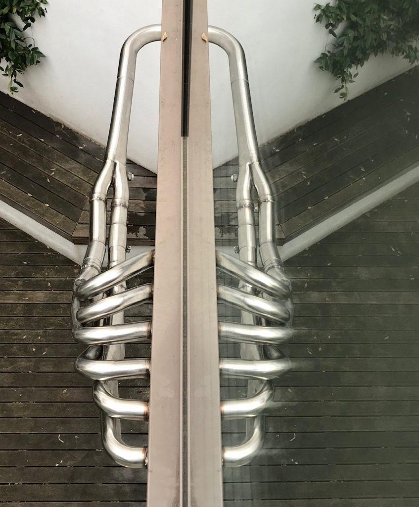 Kunst! aan de buitenmuur van een woning in London.